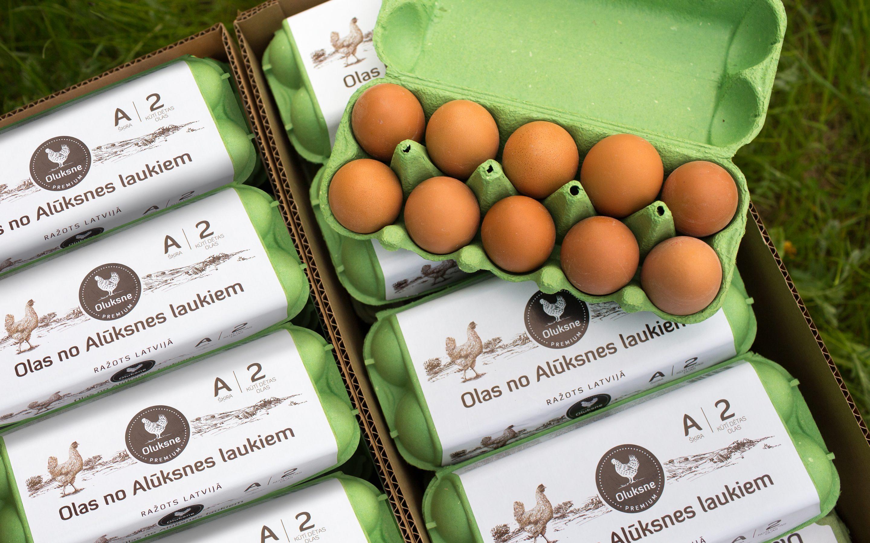 """Latvijas """"Gada Jaunais produkts 2020"""" – Oluksne kūtī dētas vistu olas"""